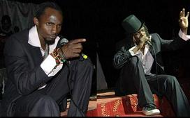 Mowzey Radio and Weasel Tv at Theatre Labonita