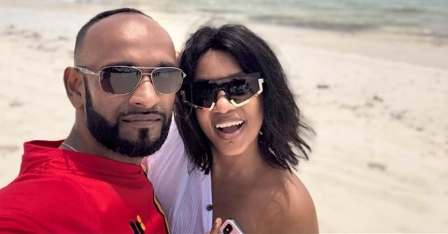 Reuben and Zahara in Mombasa