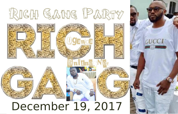 Rich Gang Party is on to celebrate the legacy of the late Ivan Semwanga