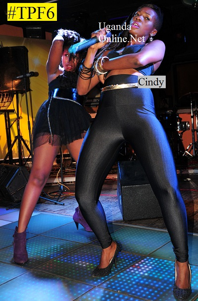 Cindy performing during the #TPF6 launch show at Club Silk