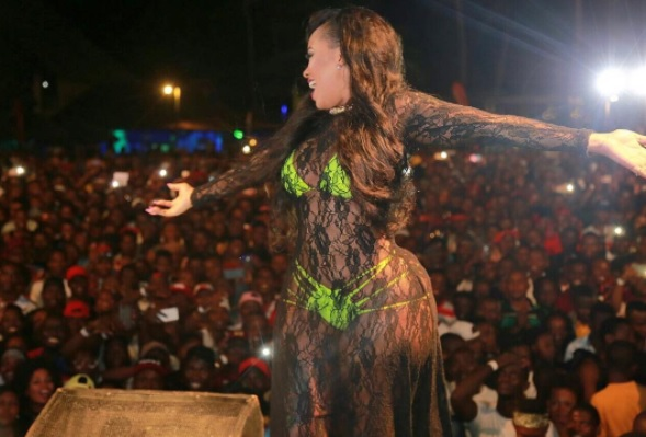 Vera Sidika's privare pics have found their way on the internet