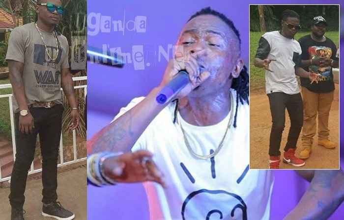 Inset is Weasel and his now former manager, Chagga