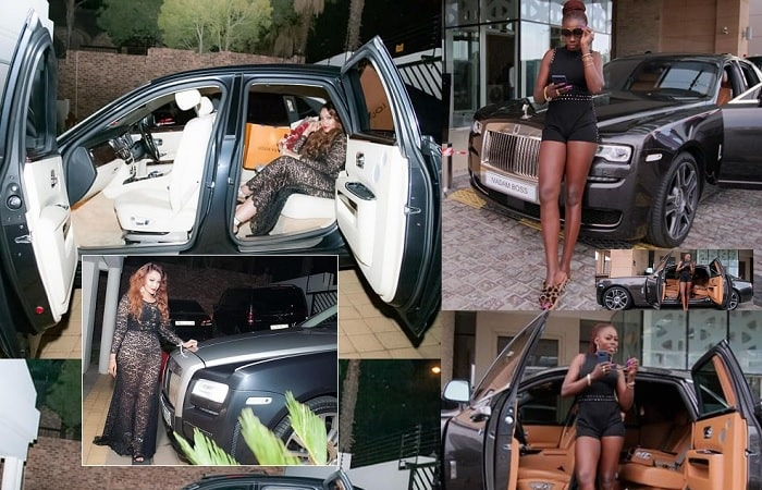 Zari and Akothee Rolls Royce statements