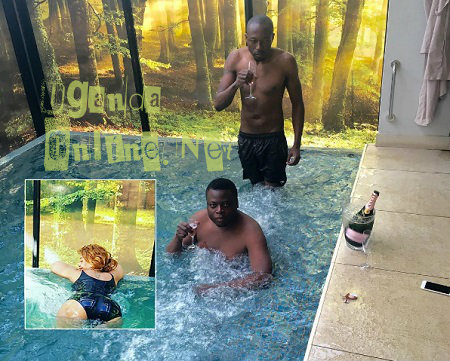 Inset is Zari the Jacuzzi with Ivan and King Lawrence