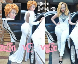 Zari comes to teh rescue of Vera Sidika