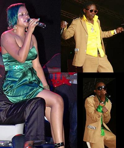 Zuena during the Return of the King and the Goodlyfe Boys on their recent album launch